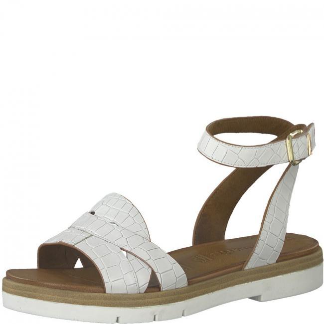 Sling-Sandaletten  127|WHITE CROCO | 36