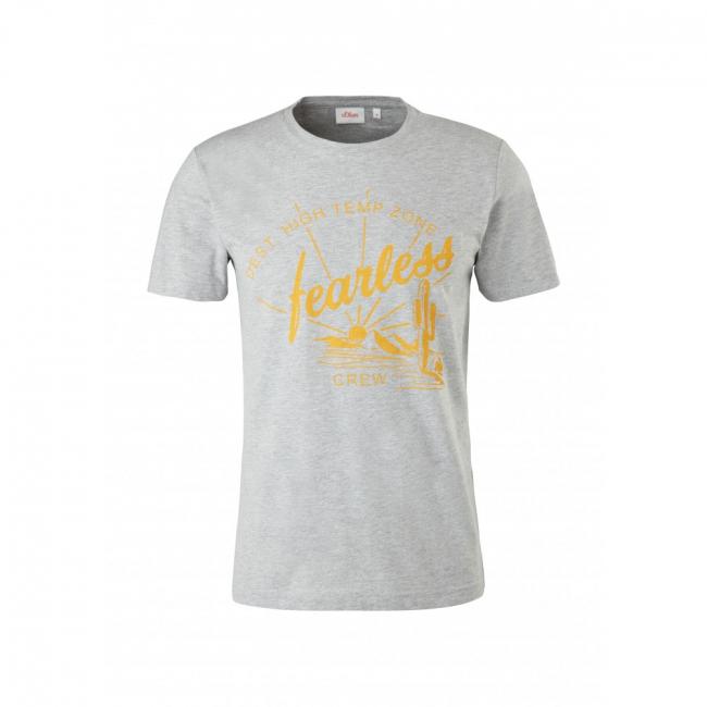 T-Shirt   Grau | S