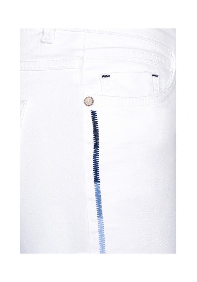 Capri Jeans   Weiß | HOSEN L19|27