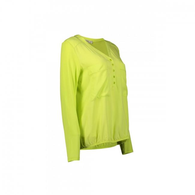 Langarm Bluse  Gelb | 36