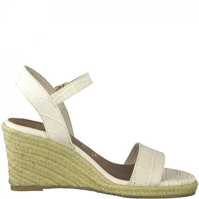 Sandaletten  429 CREAM CROCO   36